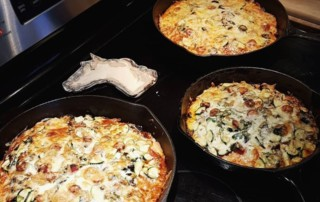 pizza cast iron