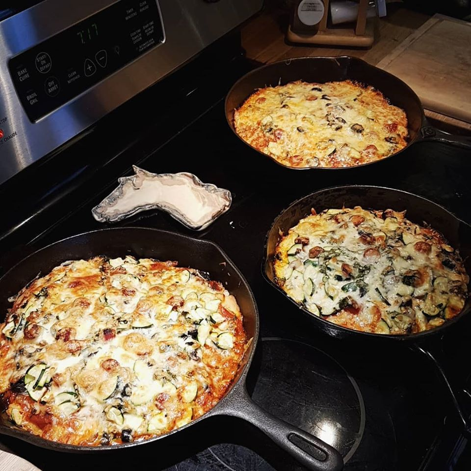 pizza cast iron